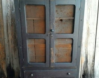 Primitive Handmade Pie Safe