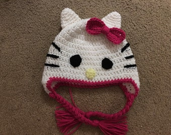 Hello Kitty Inspired Hat