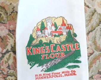 King's Castle Flour Sample Size Flour Sack