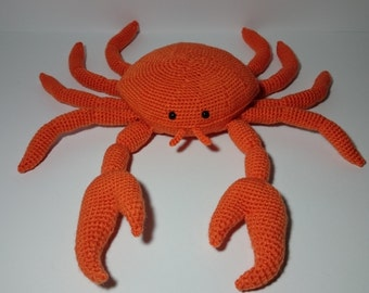 "PDF crochet pattern - zodiac sign ""Cancer"""