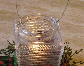 Vintage Light / Lamp Shade Re-Purposed into a Candle Holder, Patio Decor, Garden Decor, Home Decor, UniqueOOAK, Wedding, Holiday Decoration