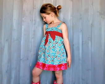 JoY SiMpLe TuNiC or DrEsS - pdf Pattern - sizes 3M - 12Y