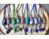 Winter SALE - Gemstone Bottle Necklaces - Choose your stone!