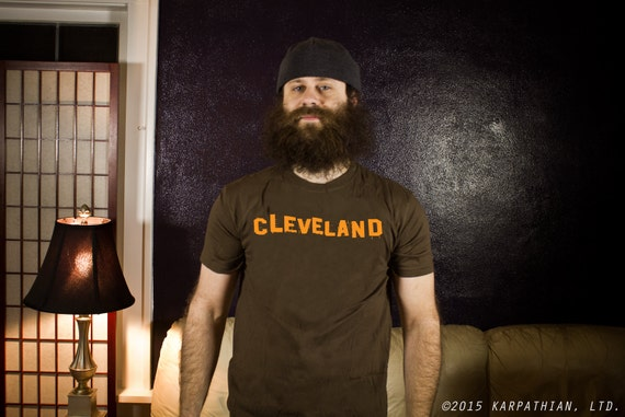 FREE SHIPPING Cool Cleveland football tee Buy Any 3 Shirts Get a 4th FREE