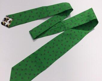 Riddles and Questions Necktie, Riddler Cosplay, Riddler Necktie