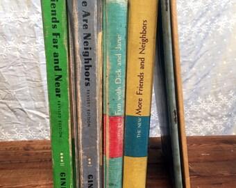 Ginn Basic Readers We are Neighbors Friends Far and Near and Jane More Friends and Neighbors