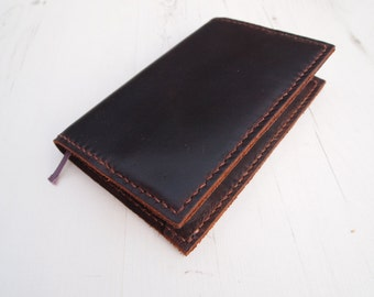 Antique Snuff Leather Moleskine Cover, Hand-stitched Pocket Moleskine Cover,Hand-stitched Large Moleskine Cover