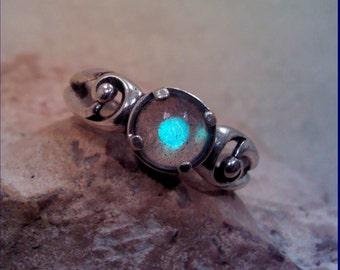 Labradorite Sterling Silver  Ring RL010