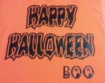 Happy Halloween Boo Shirt