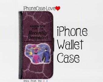 iPhone 6S Case - iPhone 6S Wallet Case - Beetlejuice iphone 6S Case - Beetlejuice iPhone 6S Wallet Case