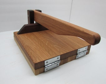 Hardwood Tortilla Press (White oak)