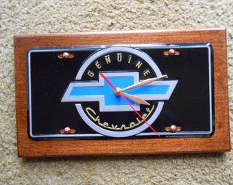Chevy Logo....Quartz Wall Clock.... ( Sale )