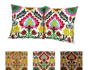 SALE ONE Waverly Santa Maria Desert Flower pillow covers, cushion, decorative throw pillow, decorative pillow, accent pillow, 18x18 pillow