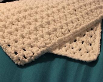 Custom Soft Crocheted Baby Blanket