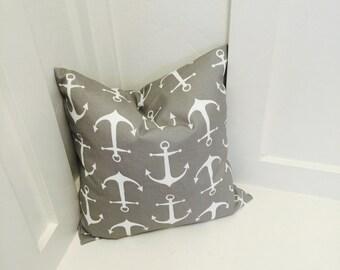 """Anchor Pillow cover 18""""x18"""" outdoor"""