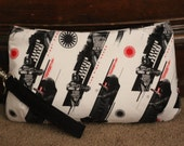 Star Wars Captain Phasma Wristlet Clutch Purse - Small Coraline by Swoon - Ready to ship