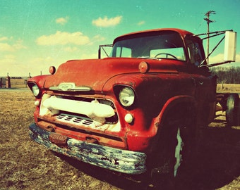 beat up truck. vintage photography. country photography