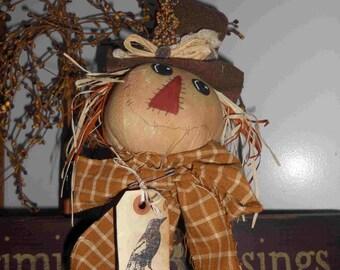 Oscar scarecrow ,primitive Halloween,primitive scarecrow,FAAP,OFFG,HAGUILD