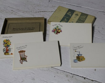 Post A Notes by Current Products, Vintage Note Cards