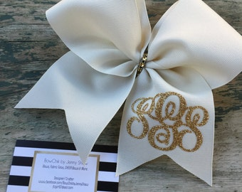 Monogram Cheer Bow