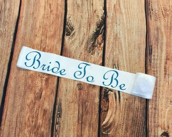 Bride to Be Sash, Bridesmaid, Maid of honor, Team Bride, Bride Sash. Bachelorette party. Bride Sash