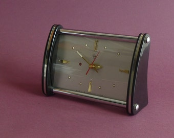Vintage desk  clock 1950s