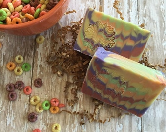 Fruit Ring cold process soap