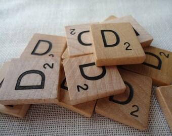 Scrabble Tile Letter D