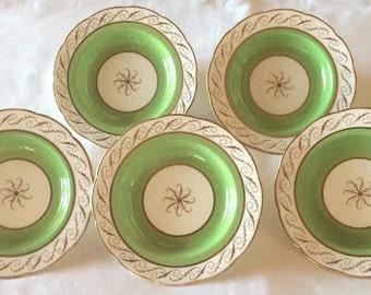 Vintage Cauldon England K4410-2 Porcelain Compote Server With Five Bowls