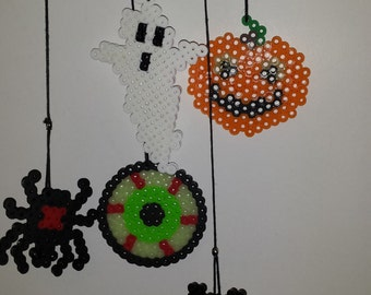 perler bead Halloween decoration