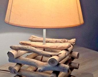 Industrial StyleLamp - Driftwood Lamp - Handmade Lamp