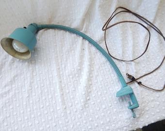 Vintage Goose Neck Task Lamp