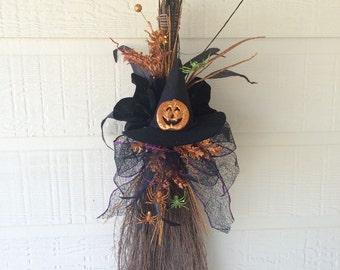 Happy Halloween Broom