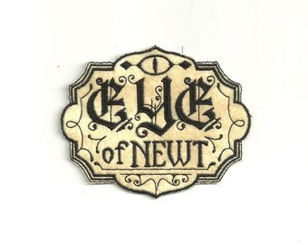 Eye of Newt, Label Patch! Custom Made!