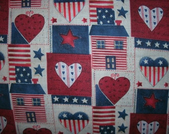 Free Shipping! on 2 Country, Patriotic, American Pillow Covers - Americana Pillow Covers - Fourth of July Decor-Holiday Pillow Cover,