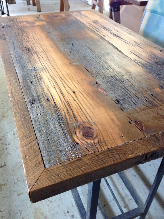 reclaimed bar top