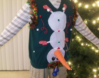 Ugly Christmas Sweater Vest 4xl - Best Sweater 2017