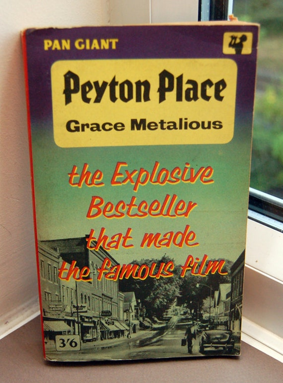an analysis of peyton place a book by grace metalious Unbuttoning america: a biography of peyton provides a thorough analysis the last part of the book finally deals with grace metalious and the book peyton place.