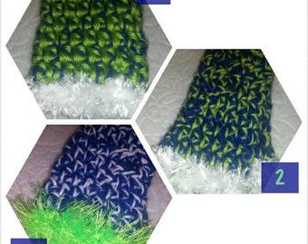 Seahawks Fingerless Gloves