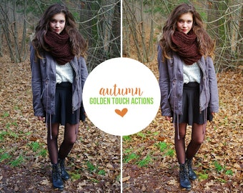 "Photoshop Action ""Autumn"" - INSTANT DOWNLOAD"