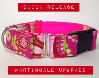 Quick release martingale buckle option upgrade