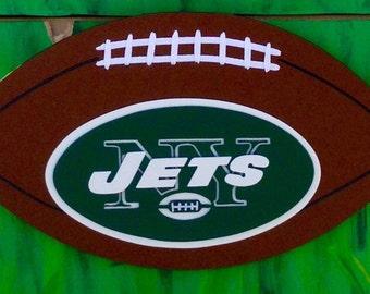 New York Jets 3-D Football Sign