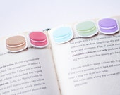 Macaron Magnetic Bookmarks (Mini 5 Pack)
