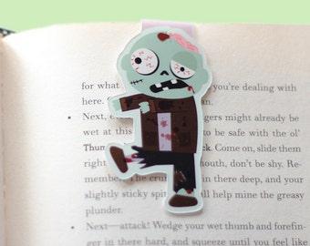 Zombie Magnetic Bookmark (Jumbo)