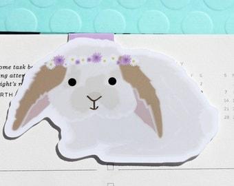 Bunny Magnetic Bookmark (Jumbo)