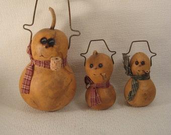 Snowman Gourd Family
