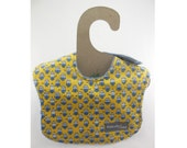 Happy Minions on this leakproof baby bib (Ready to ship)