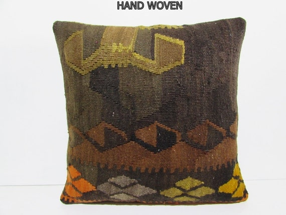 Large Floor Pillow Cases : kilim pillow 24x24 oversized pillow cover large floor cushion