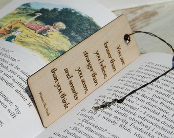 Personalizded Bookmark, Wood Bookmark, Gift for readers, Engraved gift, Custom bookmark, Engraved Bookmark, Gift for him, Gift for her