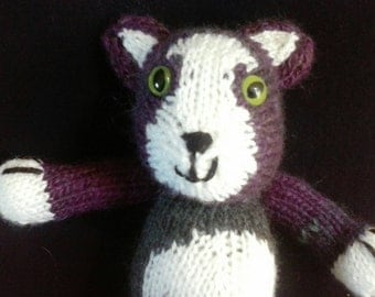 Hand Knitted Tom Kitten Toy
